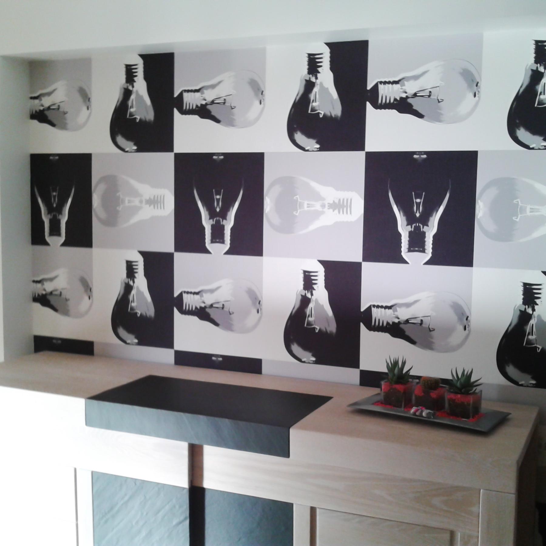 rev tement mural frederic tron. Black Bedroom Furniture Sets. Home Design Ideas